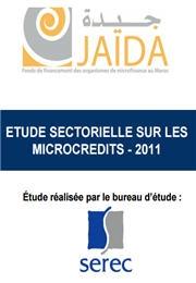 دراسة ميدانية باللغة الفرنسية لمؤسسة ''جيدة'' حول قطاع القروض الصغرى - 2011