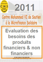 Évaluation des besoins des produits financiers & non financiers 2011