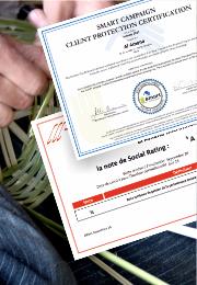 aL Amana Microfinance la première Institution de Microfinance au Maroc à obtenir la notation «A» en rating social et la Certification SMART Campaign